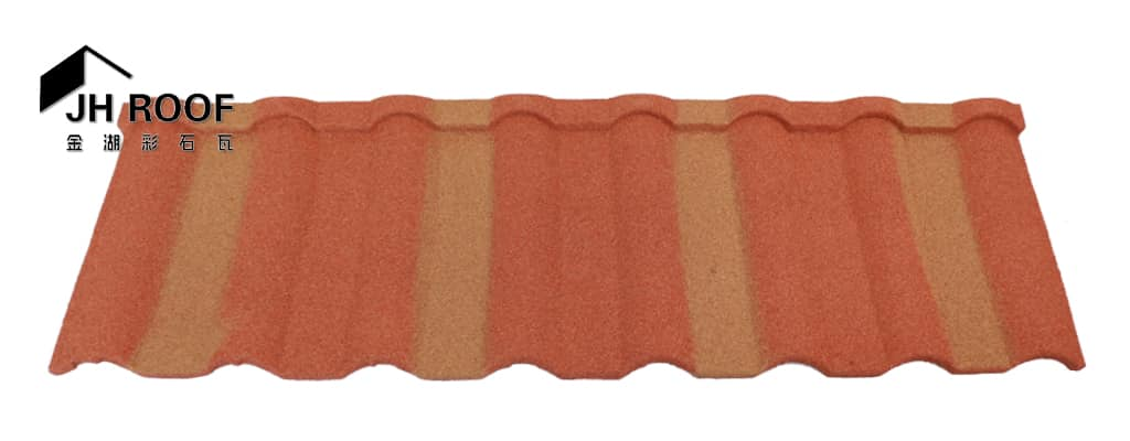 Milano stone coated metal roof tile